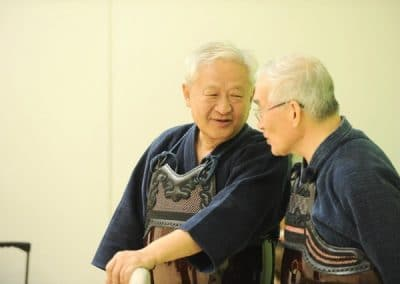 Jong Nim Rhee (kendo Hanshi 8 Dan)