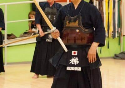 Masaharu Kakehashi (Kendo Hanshi 8 Dan)