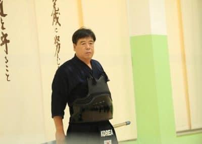 Min Hwan Kim (Kendo Kyoshi 8 Dan)